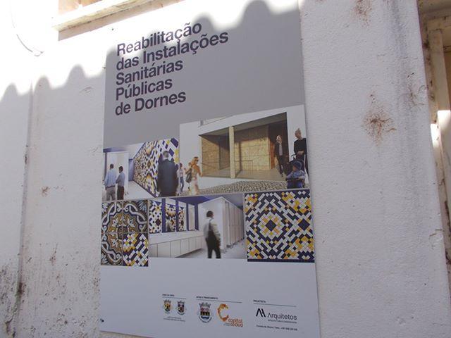 Reabilitação das Instalações Sanitárias Públicas de Dornes