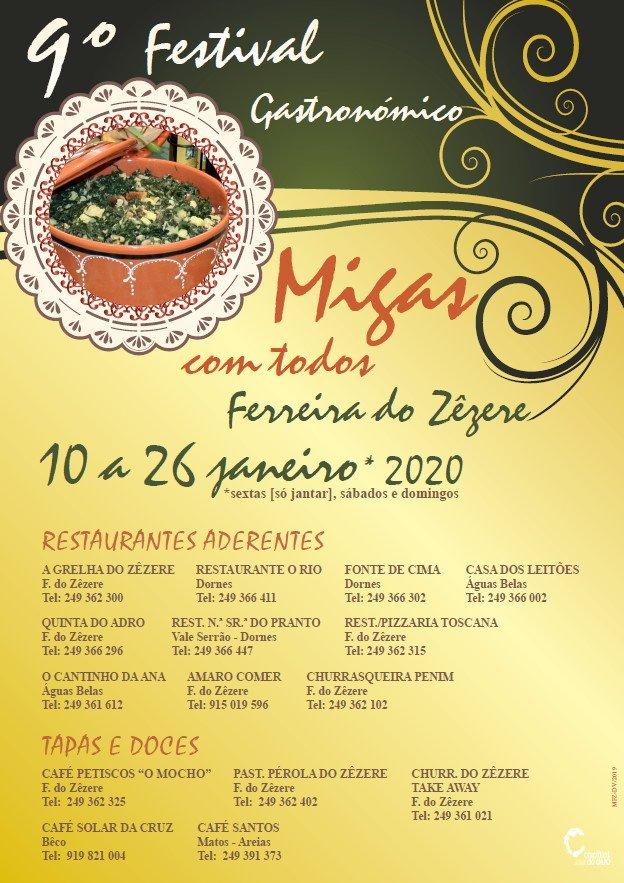 9º Festival Gastronómico Migas com Todos
