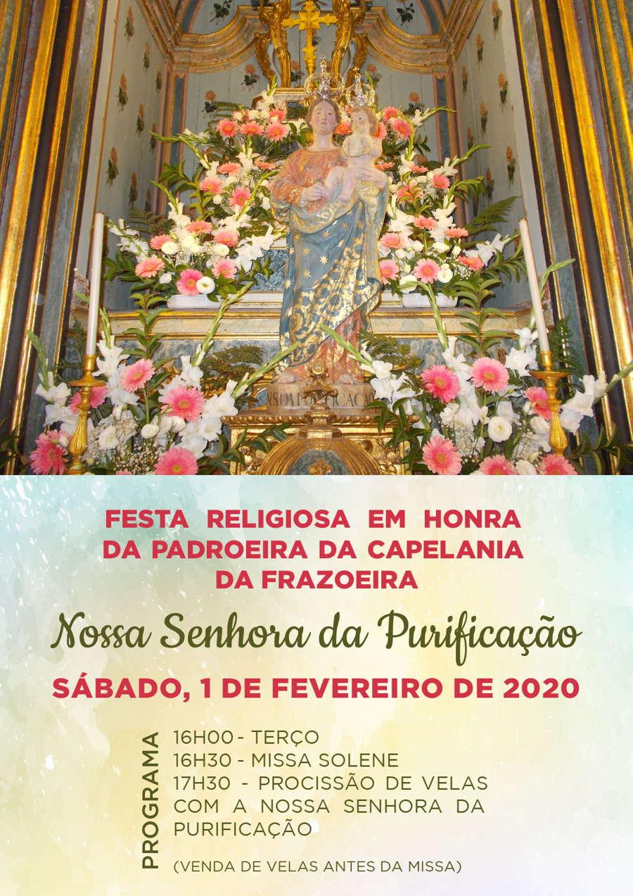 Festa Religiosa em honra da Padroeira da Capelania da Frazoeira