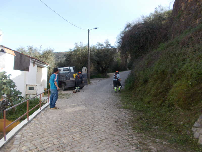 Limpeza na freguesia de Nossa Senhora do Pranto