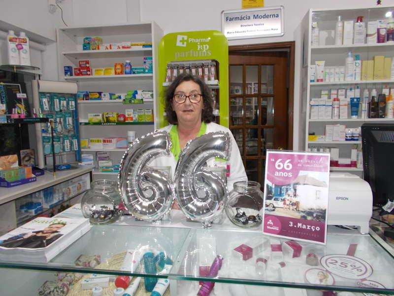Farmácia Moderna da Frazoeira celebrou 66 anos ao serviço da população