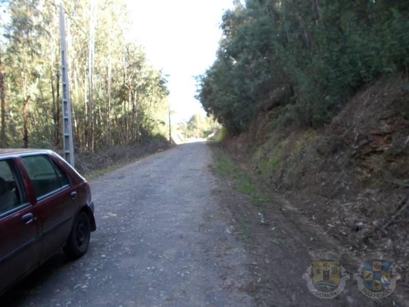 Limpeza e arranjo da estrada da Ponte Velha - Vale Serrão