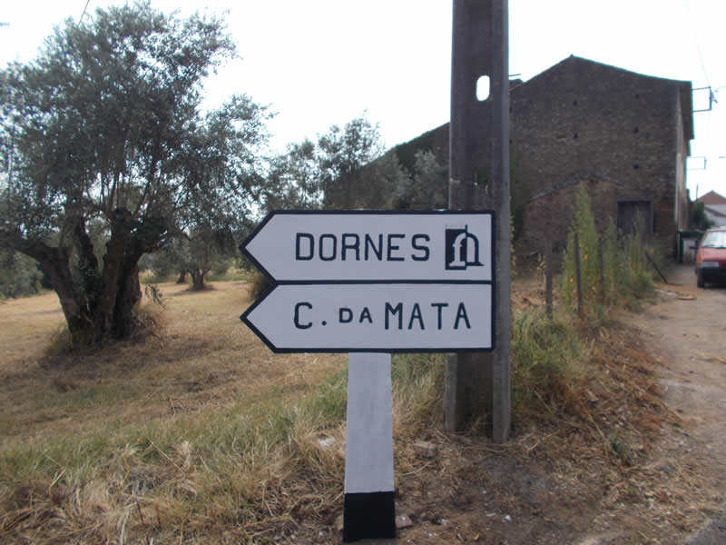 Recuperadas placas de cimento em Paio Mendes